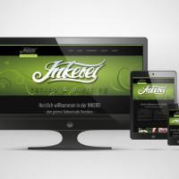 Responsives Webdesign, Screenshot der Website inkerei.com