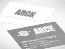 Grafik Design - Visitenkarten ARCHonauts Berlin