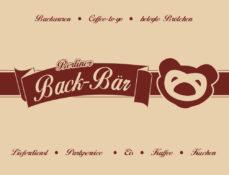 Grafik Design - Logo-Entwürfe Berliner Back Bär