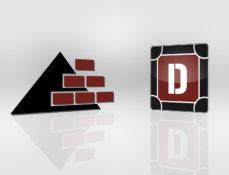 Grafik Design, altes und neues Logo