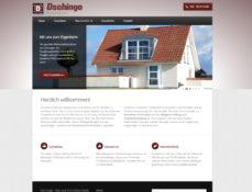Webdesign Screenshot dschingo-geruestbau.de
