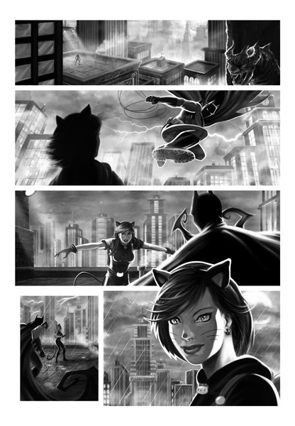 grafik batman noir page1