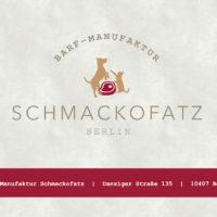 Logo BARF-Manufaktur Schmackofatz Berlin