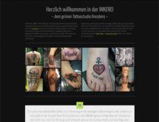 inkerei tattoostudio home 2015 screenshot