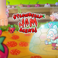 promo grafik strawberry jam arena