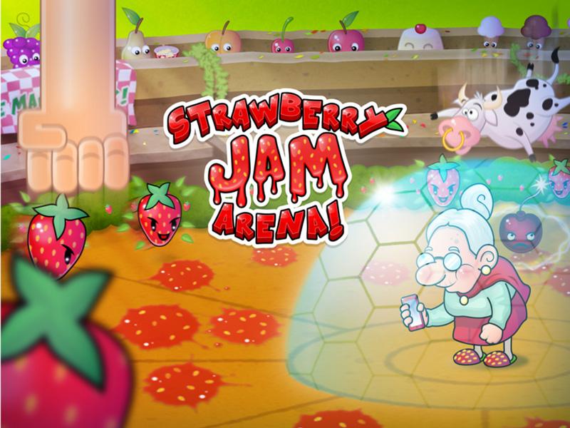 promo grafik strawberry jam arena