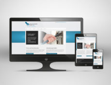 Responsives Webdesign, Screenshot der Website einbruchschaden-doktor.com